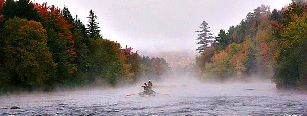 Drifting the Androscoggin River, Fall 2012. Photo: C Stumb