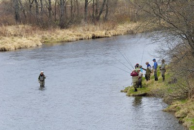 Spey Class on the upper Connecticut River