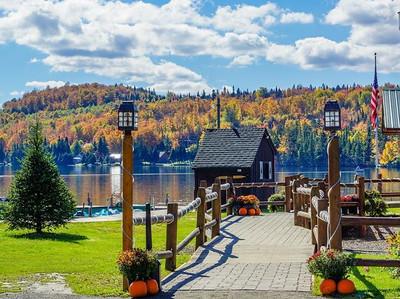 Fall at Tall Timber Lodge
